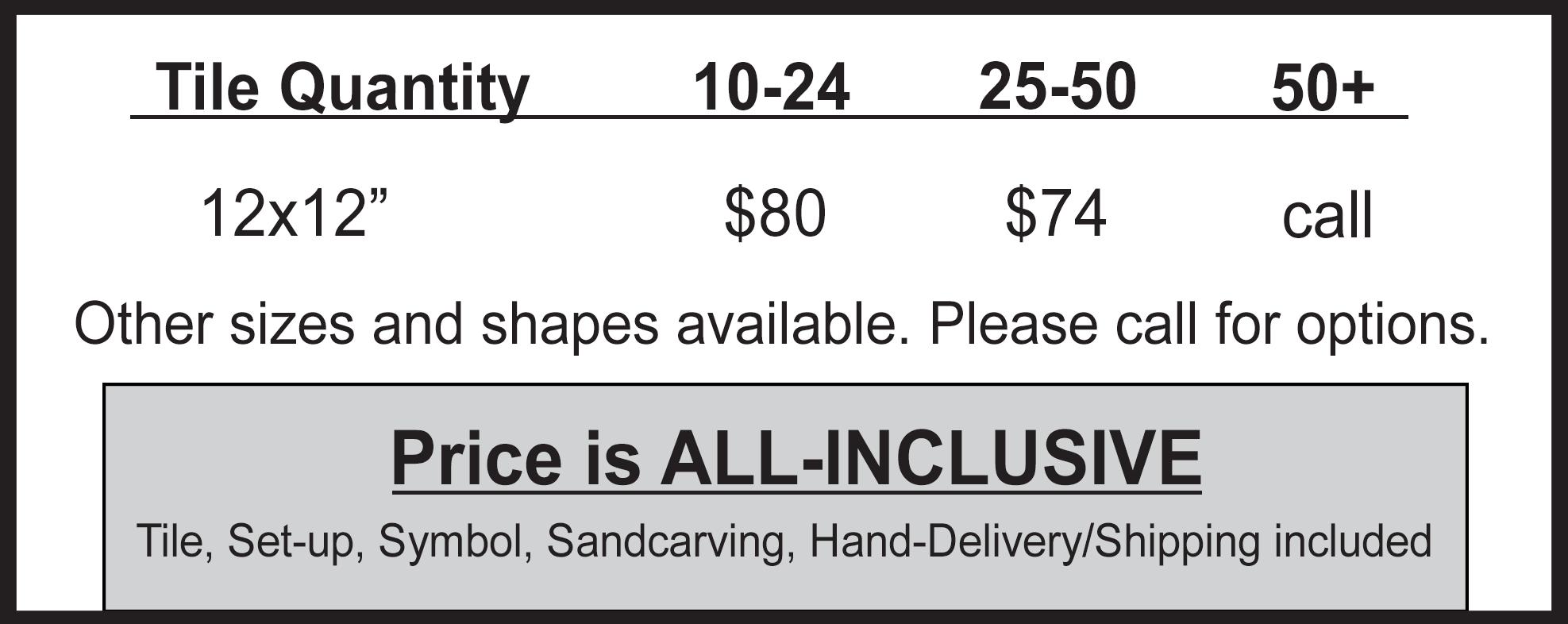 granite marble pricing